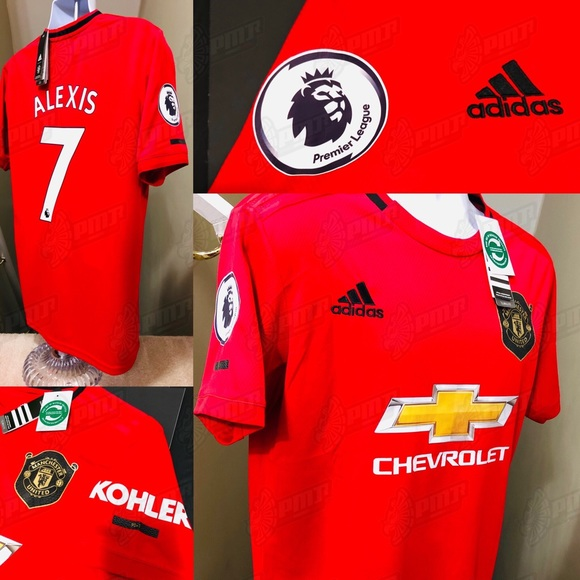 timeless design 60c22 fd301 Adidas Manchester United Alexis #7 Soccer Jersey NWT